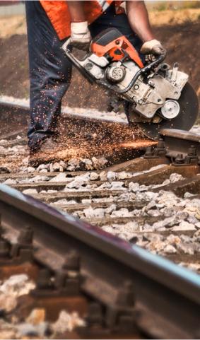 Строительство железнодорожных путей не общего пользования