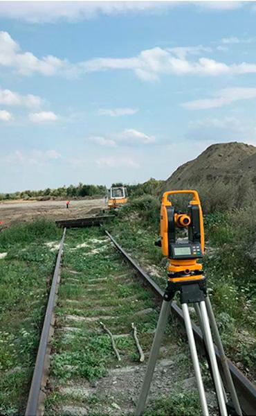 Подготовка к строительству жд путей