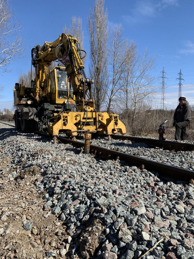 земляное полотно железных дорог фото